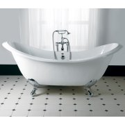 Sheraton Double Ended Slipper Bath