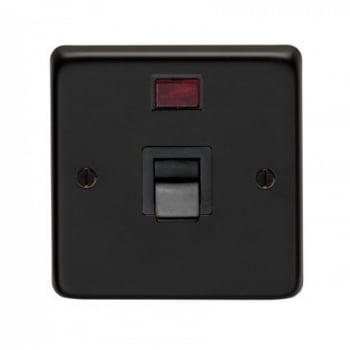 From the Anvil Single Plate Cooker Switch - Matt Black