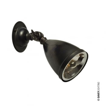 Original BTC Spotlight with Shade, includes Lamp 0820 (20W Bulb)