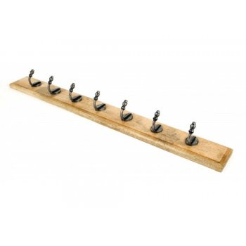 From the Anvil Stable Coat Rack - Natural Smooth & Timber