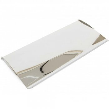From the Anvil Standard Letterplate Cover - Polished Chrome