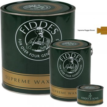 Fiddes Supreme Rugger Brown Wood Wax Polish/Restorer