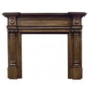 The Ashleigh Fine Wood Fireplace Surround - Oak