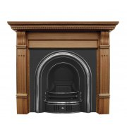 The Coleby Cast Iron Fireplace Insert