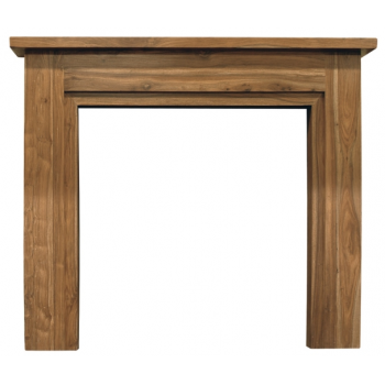Carron The Colorado Fine Wood Fireplace Surround - Natural Solid Sheesham
