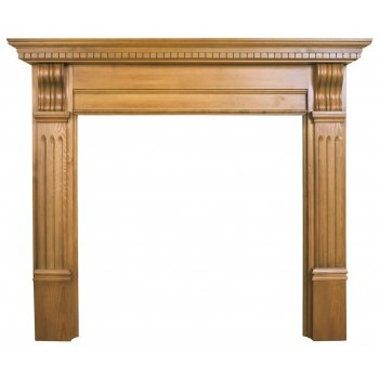 Carron The Corbel Fine Wood Fireplace Surround