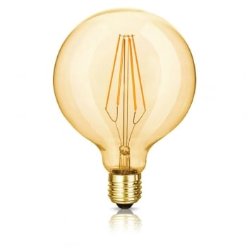 Bright Goods The Florence Maxi Globe (Carbonised) LED Filament Dimmable Light Bulb