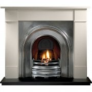 "Brompton 51"" & 56"" Agean Limestone Surround"