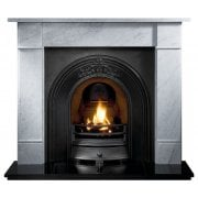 "Brompton 56"" Carrara Marble Surround"