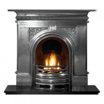 The Gallery Collection Pembroke Cast Iron Combination Fireplace 48