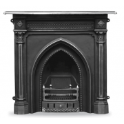 The Gothic Cast Iron Combination Fireplace