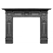 The Hampton Cast Iron Fireplace Surround