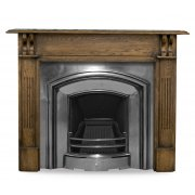 The London Plate Cast Iron Fireplace Insert