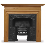 The Queensferry Cast Iron Fireplace Insert