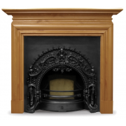The Rococo Cast Iron Fireplace Insert