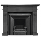 The Royal Cast Iron Fireplace Insert