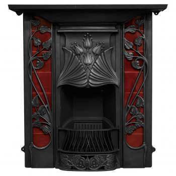 Carron The Toulouse Cast Iron Combination Fireplace