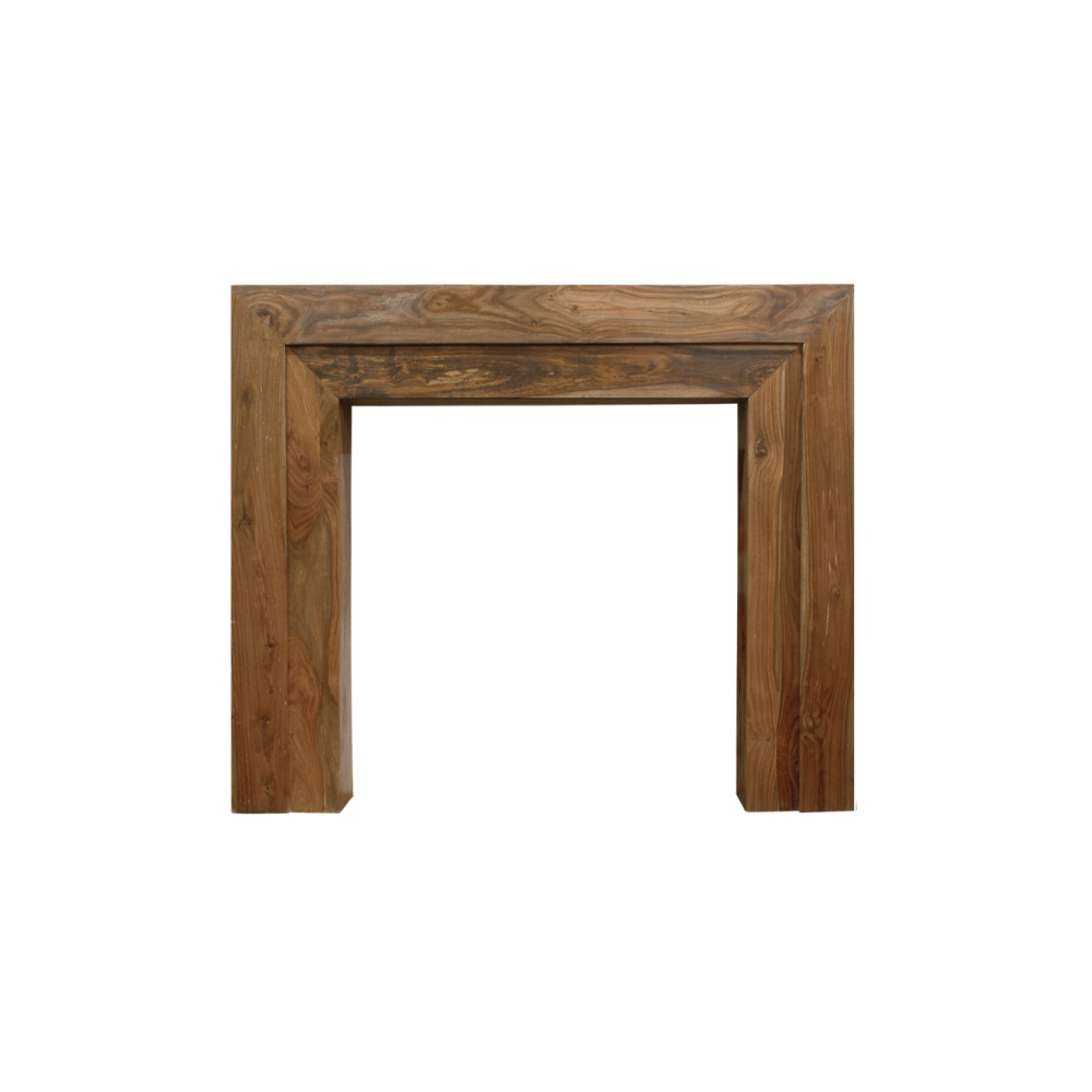 carron the vermont fine wood fireplace surround natural solid