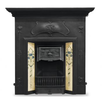 Carron The Verona Cast Iron Combination Fireplace