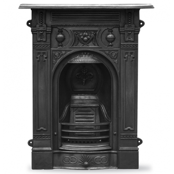 Carron The Victorian Small Cast Iron Combination Fireplace