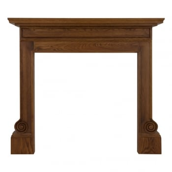 Carron The Volute Wooden Fireplace Surround