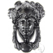 PPS Traditional Antique Victorian Style Grecian Goddess Cast Iron Door Knocker - Black