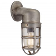 Vintage Industrial Style Cage Retro Bulkhead Sconce Wall Light