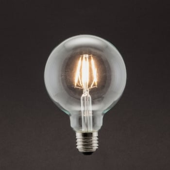 Industville Vintage Style Edison LED 5W E27 Dimmable Light Bulb - Globe Shape