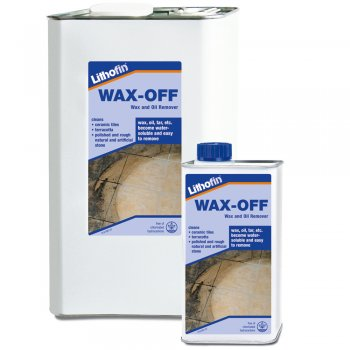 Lithofin Wax-Off Oil, Grease, Wax & Sealant Remover